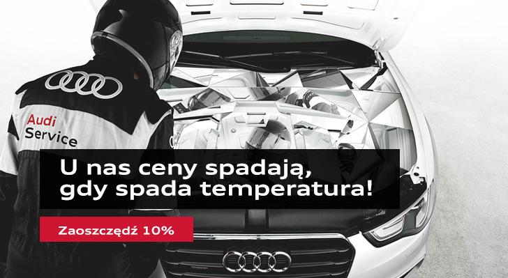 Oryginalne akumulatory Audi. Zaoszczędź 10%.