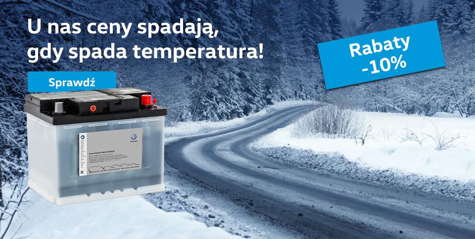 Oryginalne akumulatory Volkswagen - Rabaty -10%