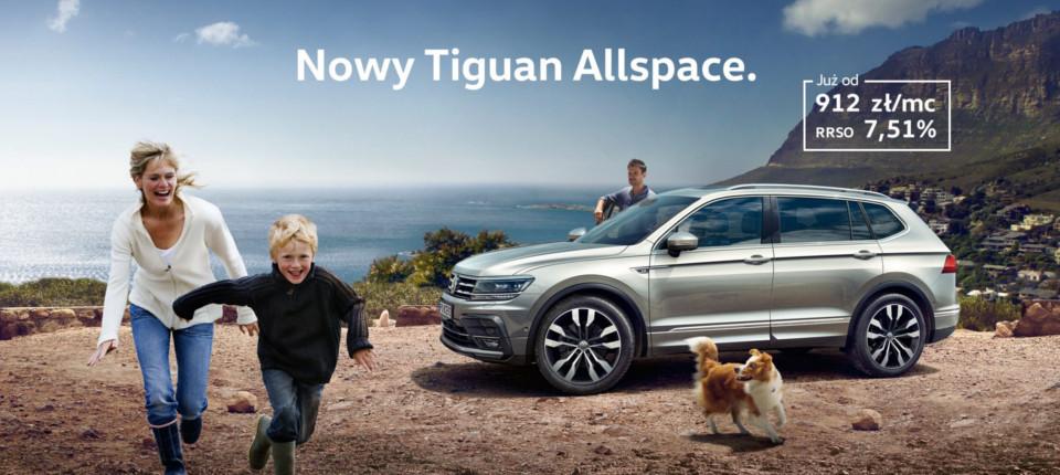 Nowy Volkswagen Tiguan Allspace