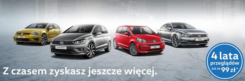 Pakiet Przegl±dów Volkswagen w promocyjnej cenie