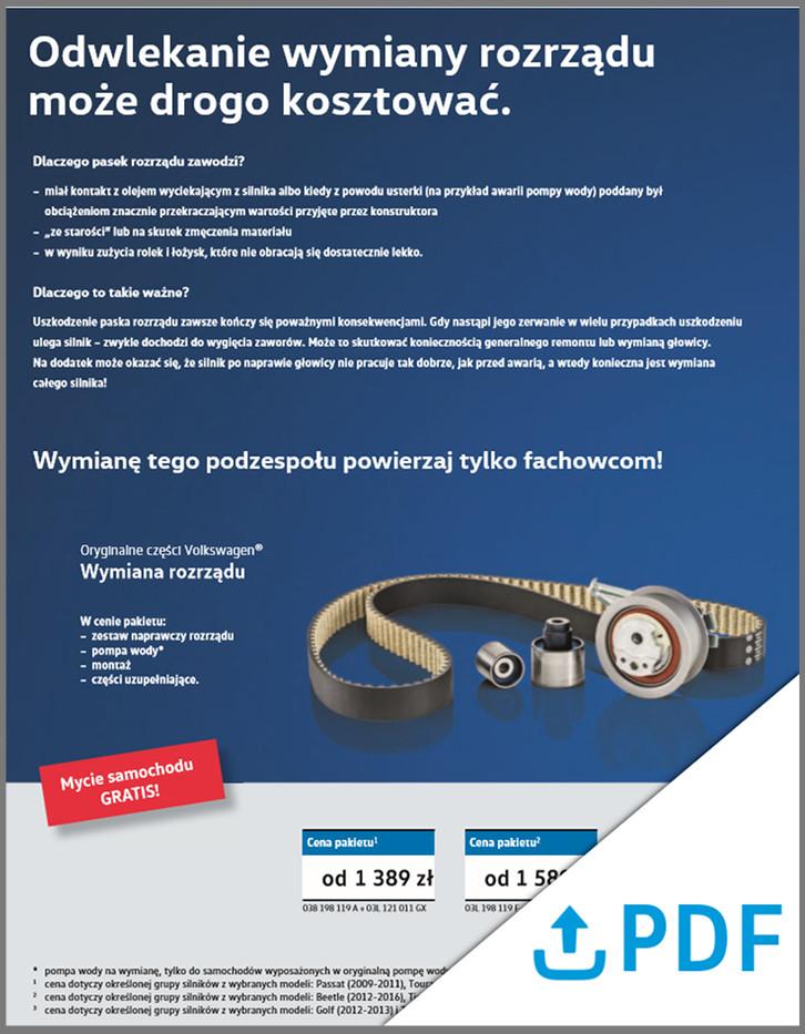 Promocje serwisowe - pobierz PDF
