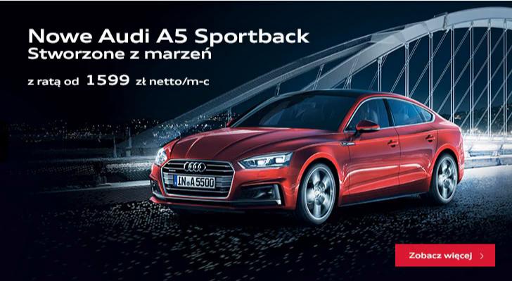 Poznaj nowe Audi A5!