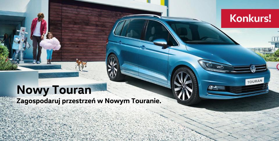 Zdob�d� zaproszenie na premier� Nowego Volkswagena Tourana!