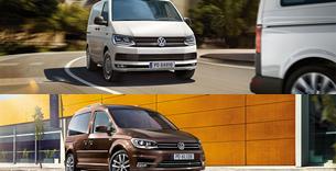 oferty specjalne - Nowy Volkswagen Caddy i Transporter