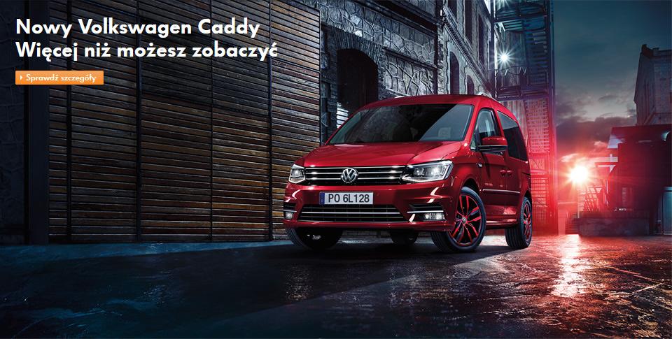 Nowy Volkswagen Caddy Maxi