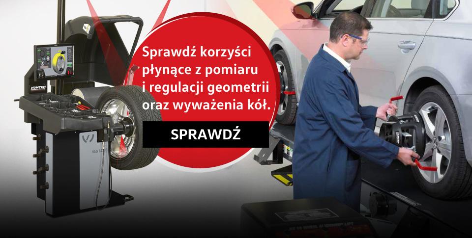 Geometria i wywa¿enie kó³ w serwisie Volkswagen w Sosnowcu