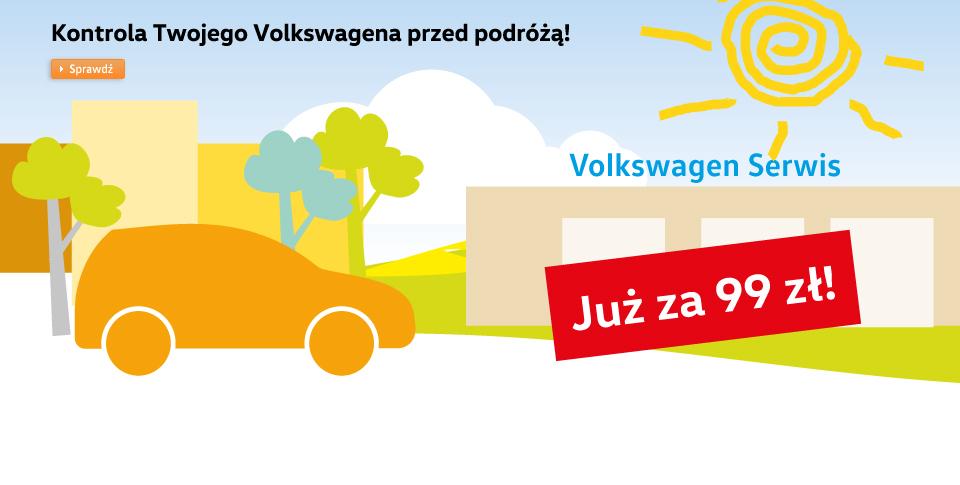 Kontrola Twojego Volkswagena przed podr�!