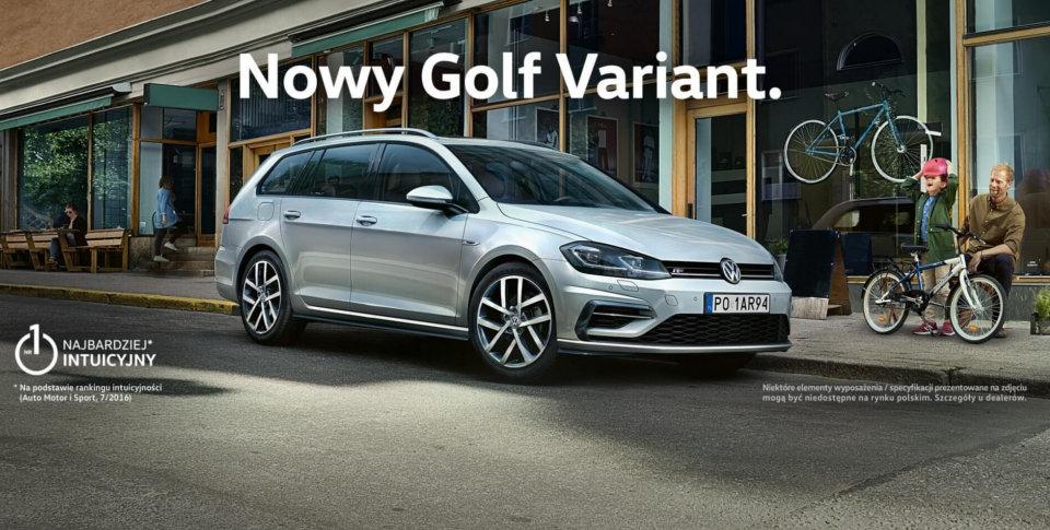 Nowy Volkswagen Golf Variant