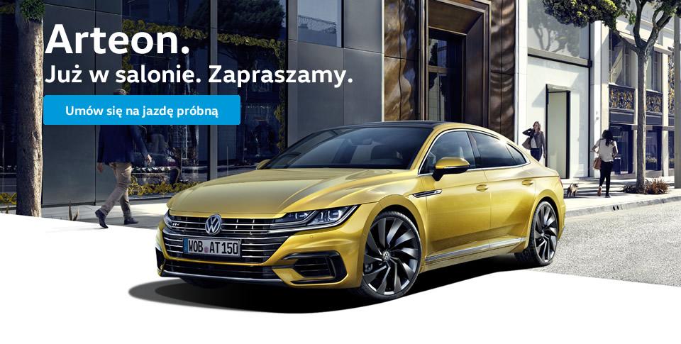 Nowy Volkswagen Arteon.