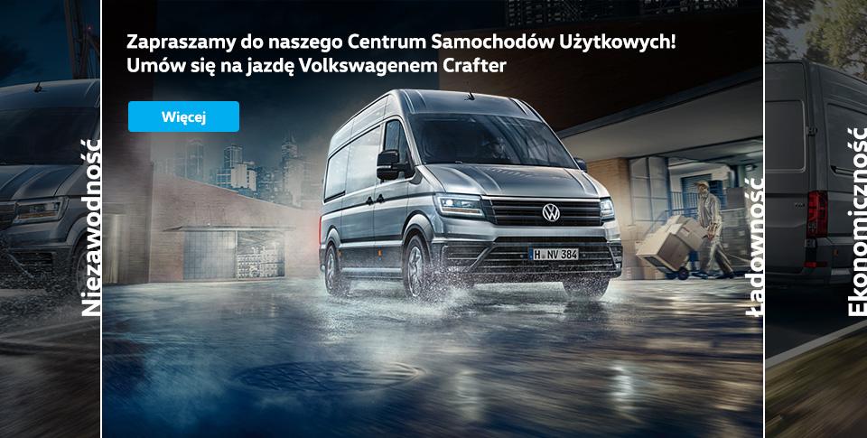 Nowy Volkswagen Crafter