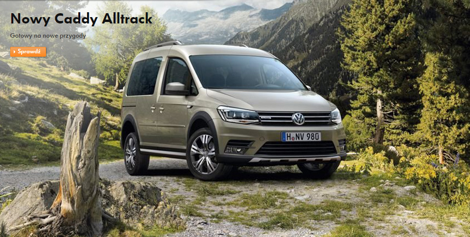 Nowy Caddy Alltrack