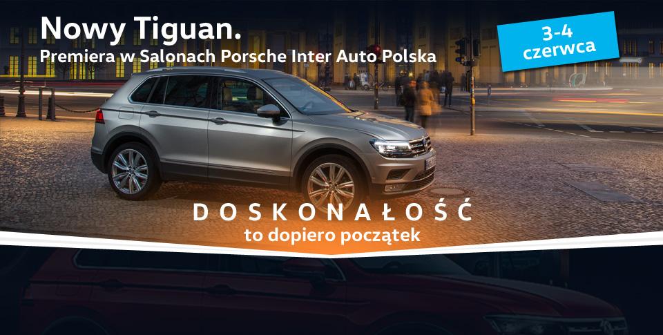 Premiera Nowego Volkswagena Tiguana