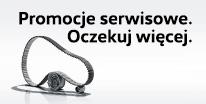 promocje w serwisie volkswagena