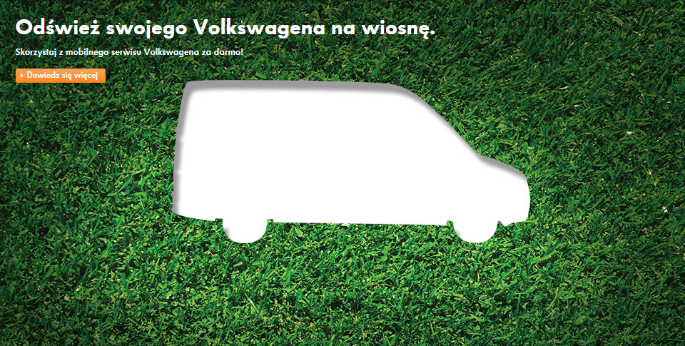 wiosenna oferta serwisu volkswagen u�ytkowe