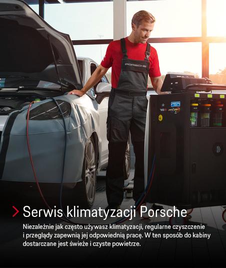 Serwis klimatyzacji Porsche